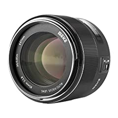 Standard 85mm full frame lens for portrait, subject, archiecture and landscape photography. Wide aperture of f1.8 with 9 diaphragm blades, designed to produce super smooth round blur effect (bokeh). Lens consturction is 9 elements in 6 groups with de...