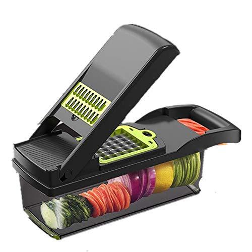 LNYJ Multifuncional Frutas Vegetales Herramienta de la Patata del Espagueti arrocera Mandolina Vegetal máquina de Cortar del Cortador de Peeler Zanahoria desfibradora del rallador