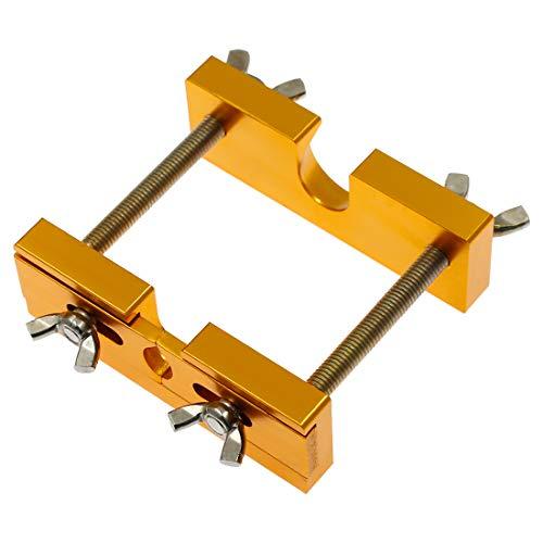 Hordion Mundstückabzieher Werkzeug Trompete Mundstückentferner für Blechinstrumente Trompete Posaune Horn Mundstück, Gold
