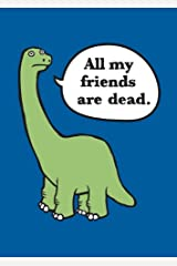 All My Friends Are Dead Felt Journal Diary