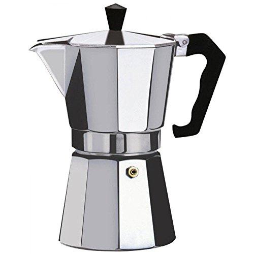Kabalo 150ml (2-cup) Espresso Stove Top Caffettiera - Continental Moka Percolator Pot in alluminio [150ml (2-cup) Espresso Stove Top Coffee Maker - Continental Moka Percolator Pot Aluminium]