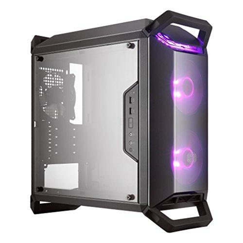 Cooler Master MasterBox Q300P Case per PC 'Micro-ATX, Mini-ITX, RGB LED, con Finestra Laterale' MCB-Q300P-KANN-S02