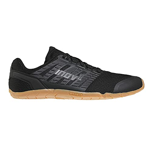 Inov-8 Men's Bare-XF 210 V3 - Minimal Barefoot Trail Running Shoes - Black/Gum - 10