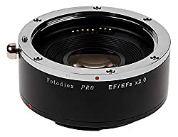 professional Fotodiox Pro Autofocus 2X Teleconverter is compatible with Canon EOS EF and EF / EF full frame lenses …