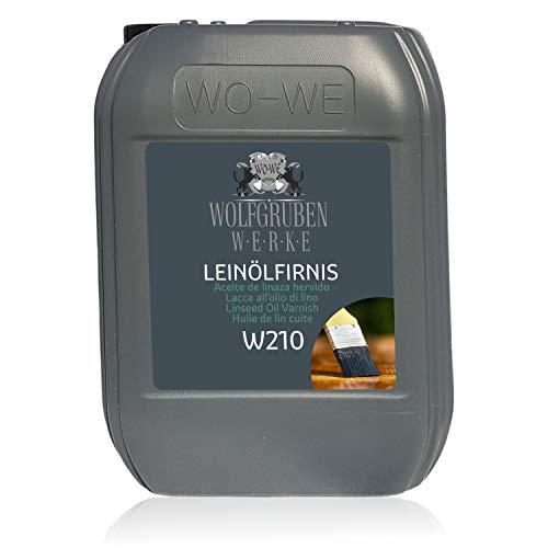 Olio di Lino Cotto per Legno Finitura Cura Protezione Incolore W210-10L