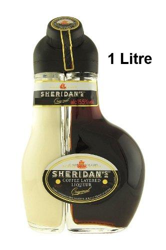 Sheridan's Coffee Licor en capas 100 cl (2 botellas)