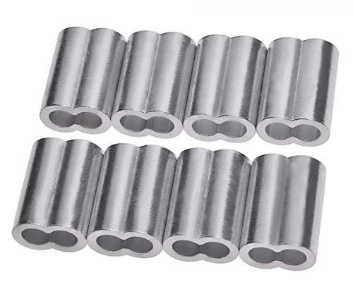 Penta Angel 20pcs Aluminum Crimping Loop Sleeve for 7/32