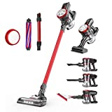 dibea Cordless Stick Vacuum Cleaner 5 in 1,17000Pa Powerful Suction Lightweight Bagless Rechargeable
