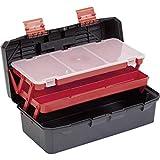 Alutec Werkzeugkoffer aus Kunststoff, freischwingende Werkzeugeinlagen/Fächer, Maße: (L x B x H) 440x 210x 195mm, 56300