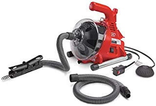 Ridgid Hand Spinner W/Bulb Auger Cable, 25'L, 5/16