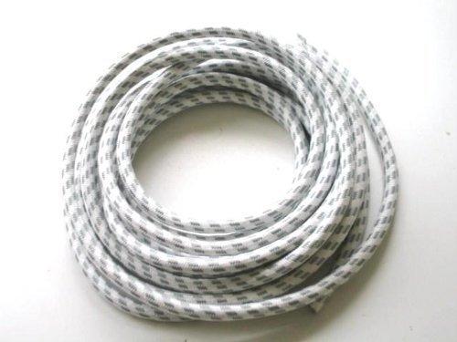 First4Spares Flex kabel voor stoomstrijkijzer, katoenen gecoat, hittebestendig, 5 m
