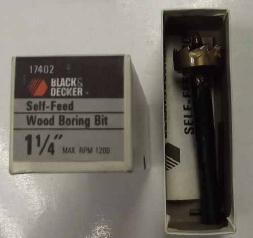 "Black & Decker 17402 - Broca para madera (1-1/4"")"