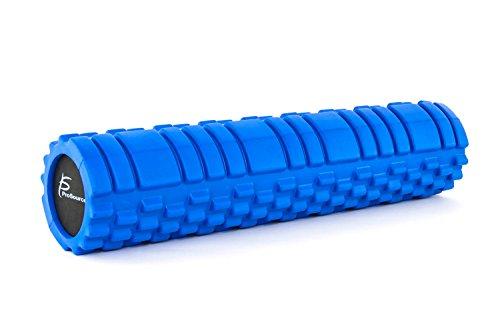 """New ProSource Sports Foam Roller 13"""" x 6"""" / 24"""" x 6""""  (33 cm x 15 cm/ 61 cm x 15 cm) with Gr..."""