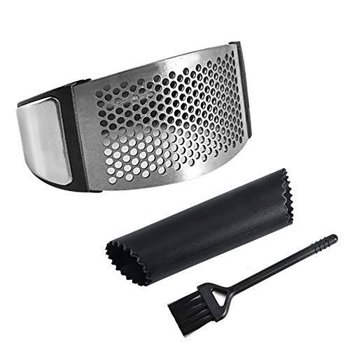 othulp Knoblauchpresse Knoblauchschneider Knoblauch Rocker Küche Gadgets Und Werkzeuge Edelstahl Knoblauch Presse Knoblauch Schäler Küche Utensilien