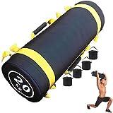 Sacco di Sabbia Peso Boxe Allenamento Power Bag Regolabile Fitness Sandbag con 6Maniglie p...