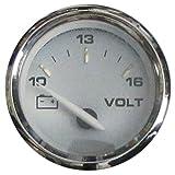Faria 420356-1 19004 Kronos Voltmeter 10-16Vdc, Beige