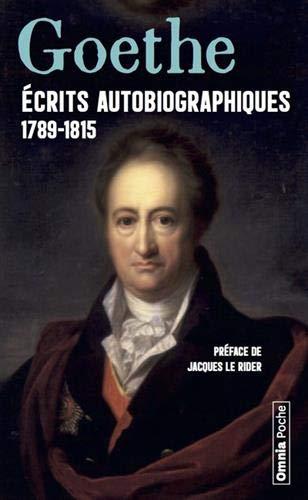 Ecrits autobiographiques 1789-1815 : Annales ; Campagne de France ; Siège de Mayence ; Entretien avec Napoléon