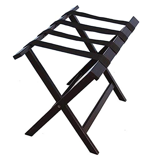Check Out This XingKunBMshop Foldable Luggage Rack Suitcase Stand, Pine Wood Suitcase Shelf,Room