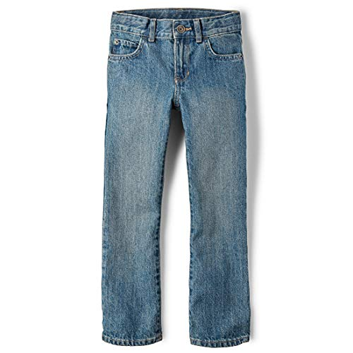 The Children's Place Boys' Bootcut Jeans, River 5700, 7
