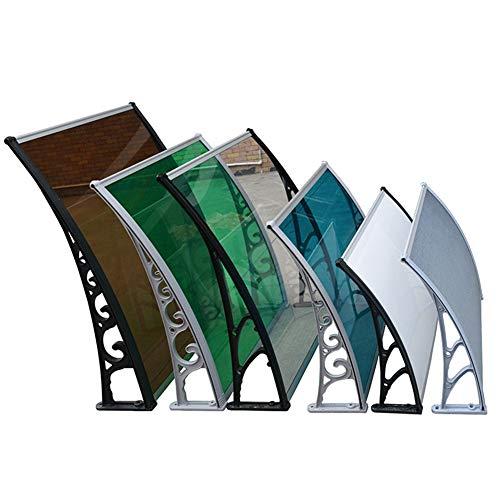 RZEMIN Marquesina Toldo Terraza Balcón Casa Toldo De Aleación De Aluminio Ventana Aire Acondicionado Toldo Tablero De PC Toldo Silencioso Exterior Resistente A La Lluvia (Size : 100x150cm)