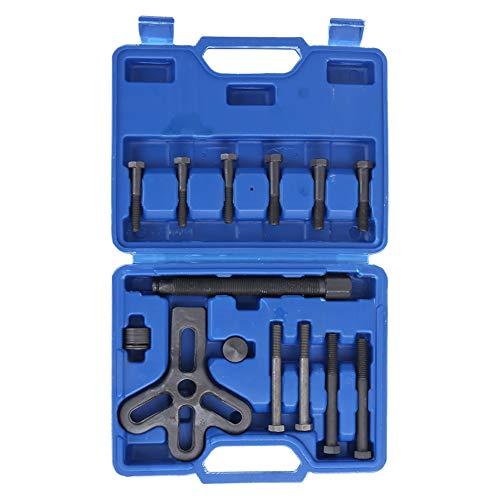 Bigking Lenkradabzieher-Kit, 13-teiliges Lenkradabzieher-Kit Entferner Harmonic Balancer Zahnrad Riemenscheibe Autoreparaturwerkzeug