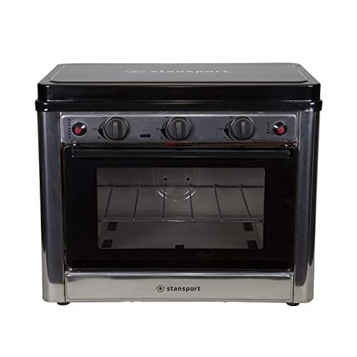 Stansport Propane Outdoor Camp Oven and 2 Burner Range 4