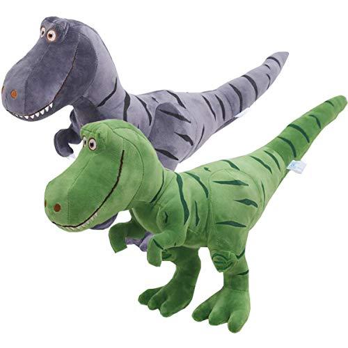 Liuer 2PCS Dinosaurios Juguetes de Fiesta a Granel Infantil Dinosaurios Tiranosaurio Peluche Fiesta Pequeño Juguetes Regalo de Cumpleaños Infantiles del Partido Favor Niñas Infantiles Niños