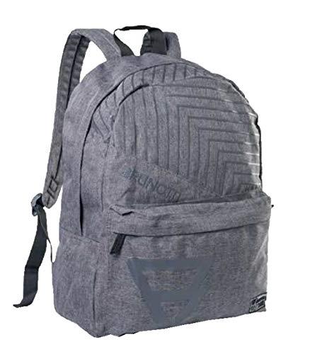Brunotti Rucksack Mister Stone Unisex Bag wasserabweisend (104 Dark Grey Melee)