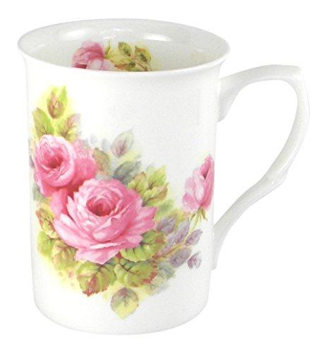 Adderley China Pink Roses Fine Bone China Coffee or Tea Mug