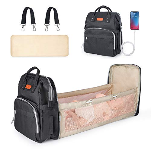 Baby Changing Bag, POYET Baby Nappy Bags ,Baby Diaper Backpack,...