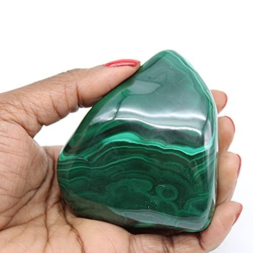 Ravaka et Mineraly Piedra de malaquita 300gr 70mm de Congo