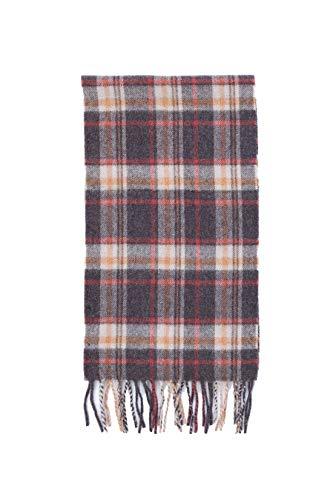 Brooks Brothers heren sjaal Schotse ruiten, bruin/beige