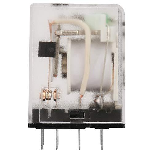 Relé intermedio Relé electromagnético 8 pines 6VDC / 12VDC / 24VDC Interruptor...