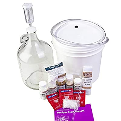 1 gallon wine fruit kit