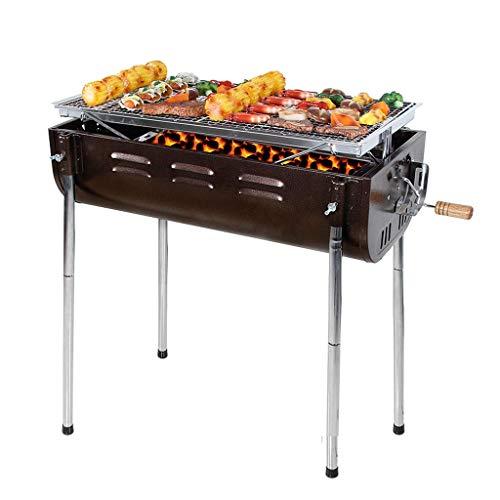 RVTYR Grill Grill, im Freien beweglichen Heimat for mehr als 5 Personen verdickte Holzkohle BBQ-Werkzeuge Holzkohle-Grill @ grillkamin (Color : C)