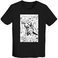 プリント 半袖シャツ メンズ T-Shirt Godzillaゴジラ Tシャツ Black Xxl