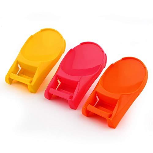 2 unids útil cuchara olla tapa estante cocina almacenamiento decoración herramienta soporte soporte nuevas herramientas de cocina tienda mundial color al azar