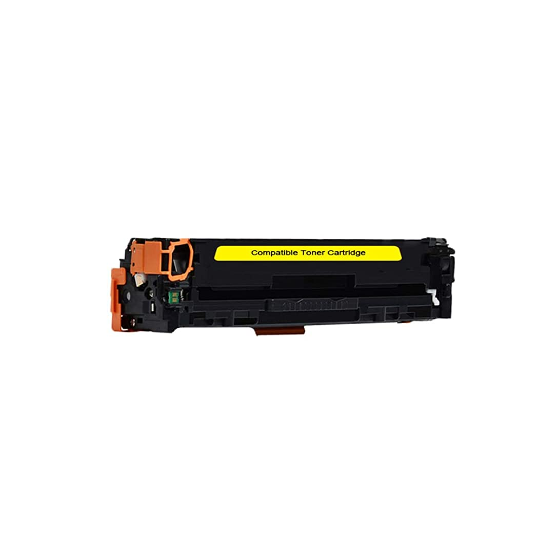 Compatible Toner Cartridge Replacement for HP 304A CC532A CP2020 CP2025 CM2320 (1-Pack Yellow)