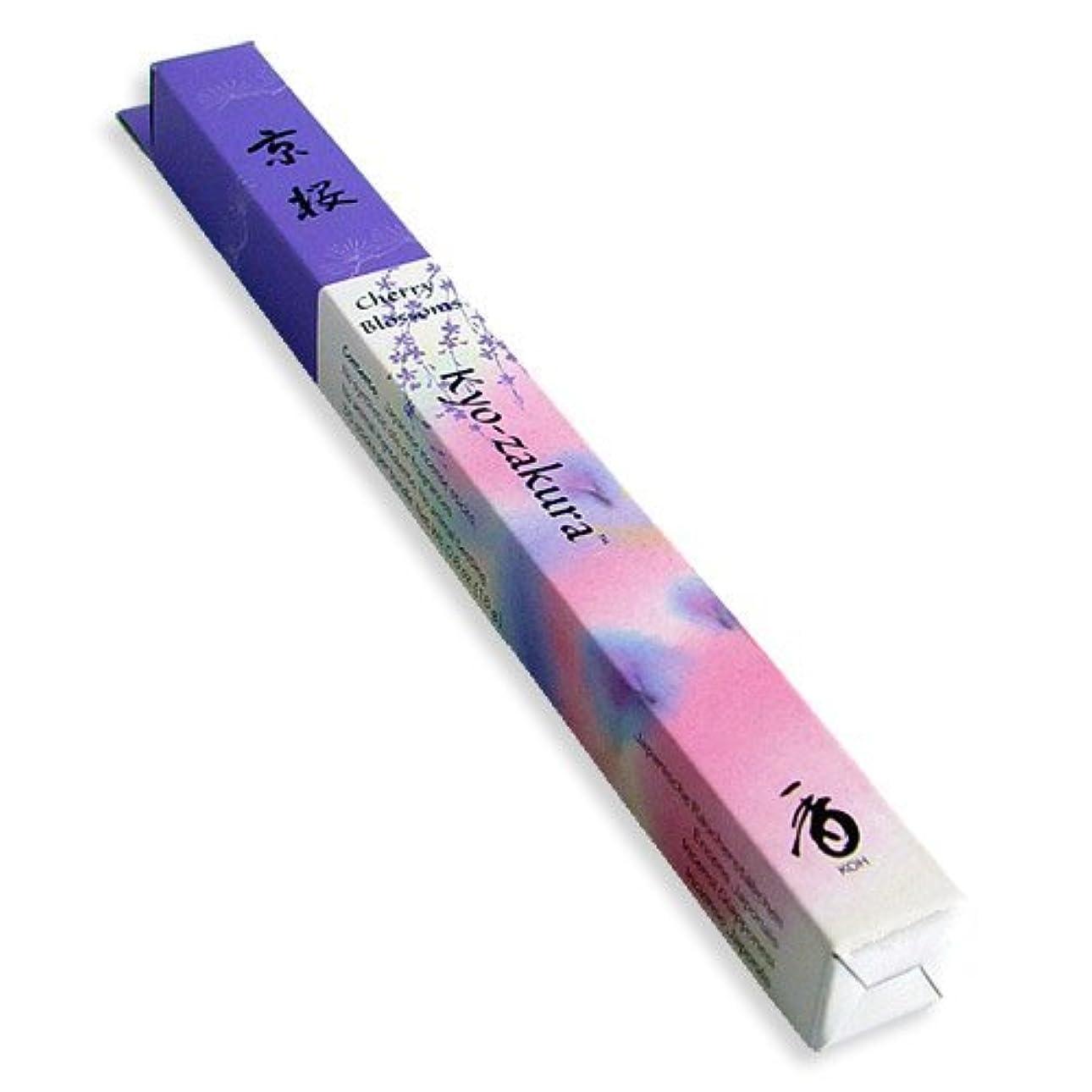 人柄どんなときもグループShoyeido's Kyoto Cherry Blossoms Incense 35 sticks - Kyo-zakura [並行輸入品]