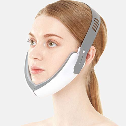 Vibrierende face-Hebevorrichtung, kompakte kosmetische Phototherapie Zugvorrichtung, V Kunststoff Gesicht, Schönheit Instrument Whitening