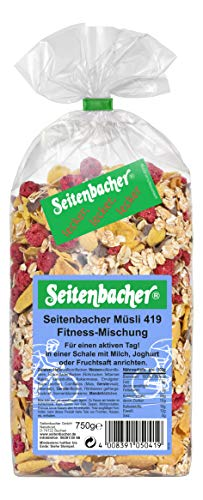 Seitenbacher Müsli Fitness-Mischung, 3er Pack (3x 750 g Packung)