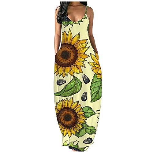 Alphahope Minikleid Sommer Kleid Damen Elegant Sexy Kleid Damen sommer Damen Sommer gestreiften Kurzarm T-Shirt Kleider Casual Swing Aline Kleider mit Tasche