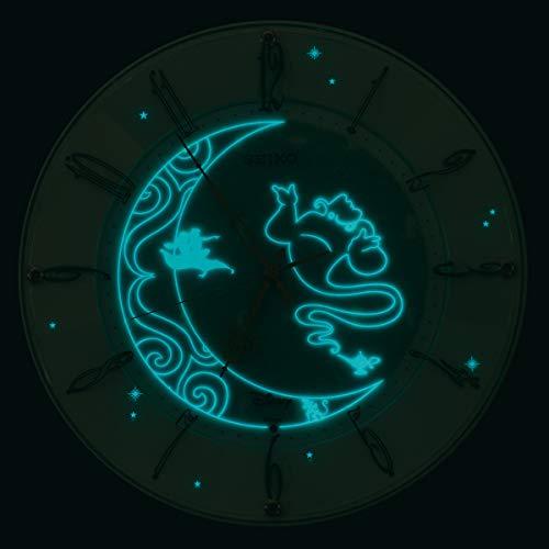 セイコークロック電波ディズニーアラジン掛け時計アナログFS512C