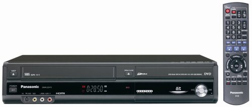 Panasonic DMR-EZ47V Up-Converting 1080p DVD-Recorder/VCR Combo with Built In Tuner (2005 Model),Black