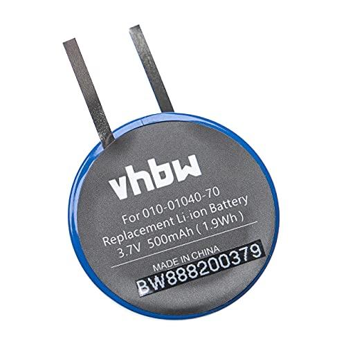 vhbw Batería Recargable Compatible con Garmin Fenix 1, 2 smartwatch, Reloj de Actividad (500 mAh, 3,7 V, Li-Ion)