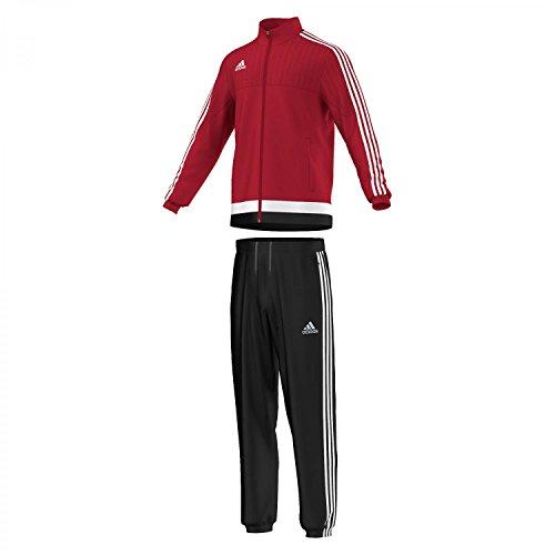 adidas Herren Trainingsanzug Tiro 15, Power Red/White/Black, S