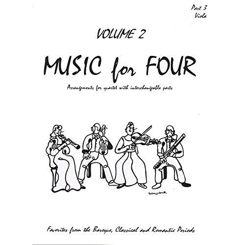 Music for Four, Volume 2 - Part 3 (Viola) - arranged by Daniel Kelley - Last Resort Music