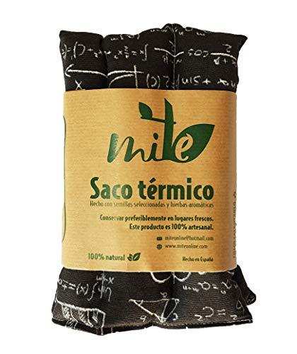 Saco térmico de semillas y hierbas multiusos (45cm x 15cm) Lavanda - MITE (Pizarra Matematicas)