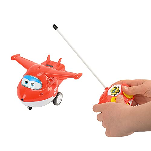 Alpha Animation & Toys- Remote Control Jett Auldeytoys YW710710-Remote Rojo, Color Blanco (Super Wings YW710710)