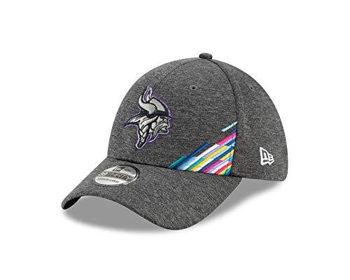 New Era Minnesota Vikings 39thirty Stretch Cap NFL 2019 On Field Crucial Catch Graphite - L-XL